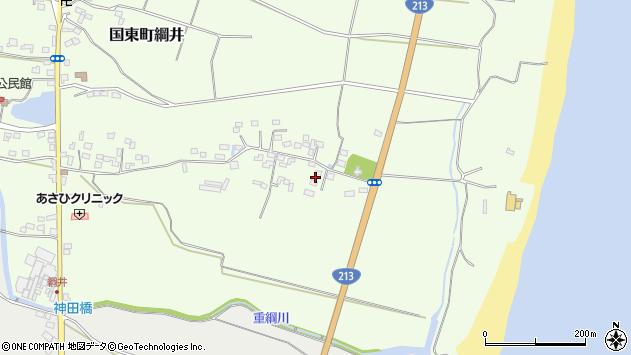 大分県国東市国東町綱井662周辺の地図