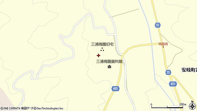 大分県国東市安岐町富清2585周辺の地図