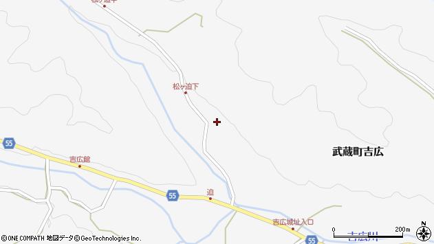大分県国東市武蔵町吉広1770周辺の地図