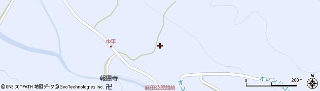 大分県国東市武蔵町麻田879周辺の地図