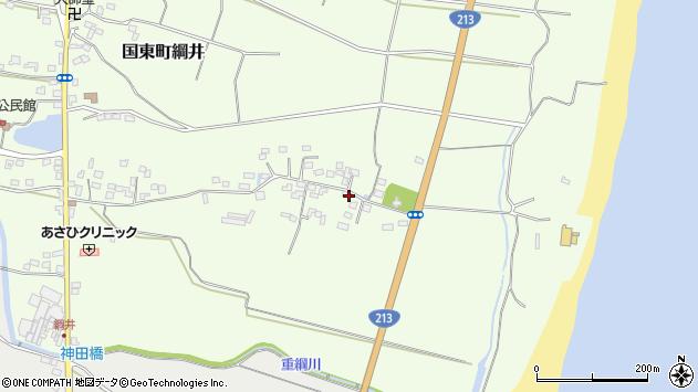 大分県国東市国東町綱井679周辺の地図