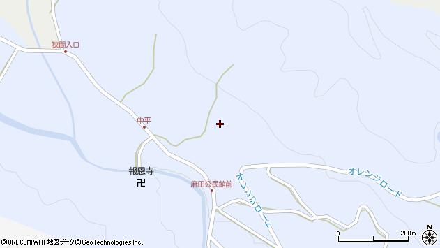 大分県国東市武蔵町麻田891周辺の地図
