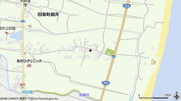 大分県国東市国東町綱井687周辺の地図