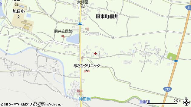 大分県国東市国東町綱井556周辺の地図