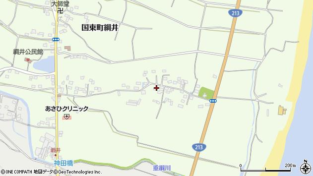 大分県国東市国東町綱井635周辺の地図