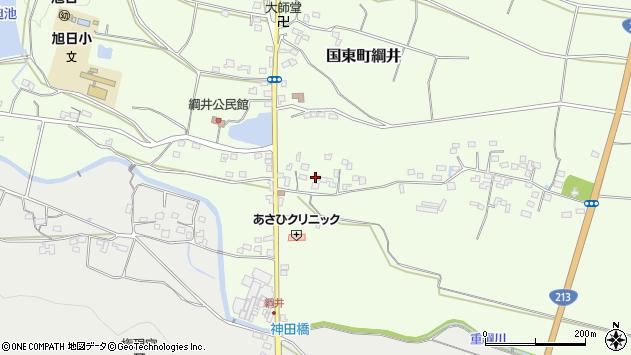 大分県国東市国東町綱井563周辺の地図