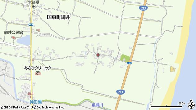 大分県国東市国東町綱井636周辺の地図