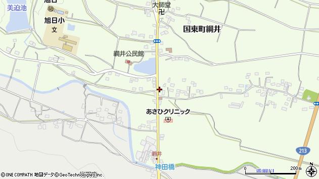 大分県国東市国東町綱井528周辺の地図