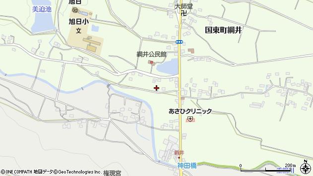 大分県国東市国東町綱井1729周辺の地図