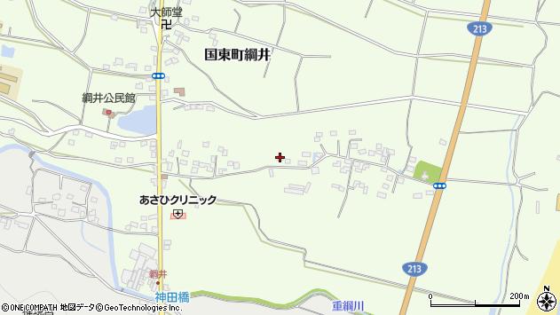 大分県国東市国東町綱井591周辺の地図