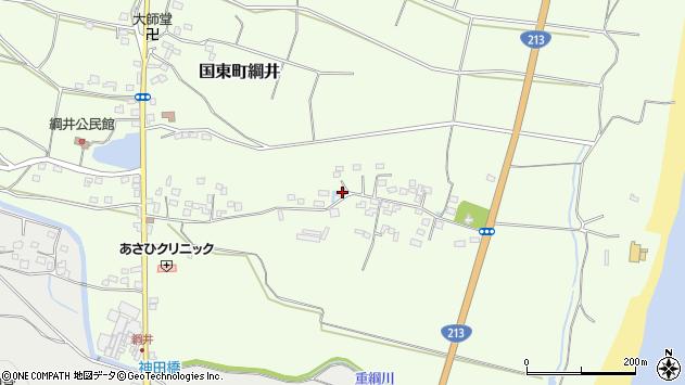 大分県国東市国東町綱井629周辺の地図
