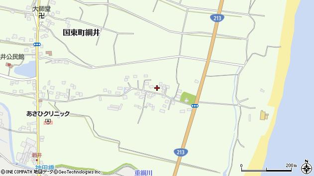大分県国東市国東町綱井716周辺の地図