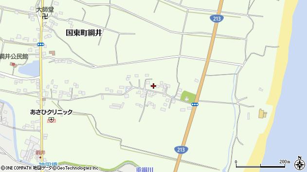 大分県国東市国東町綱井689周辺の地図