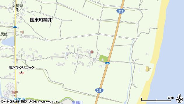 大分県国東市国東町綱井735周辺の地図