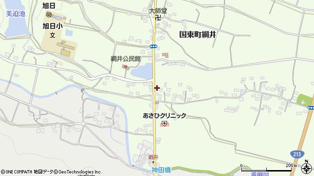 大分県国東市国東町綱井175周辺の地図