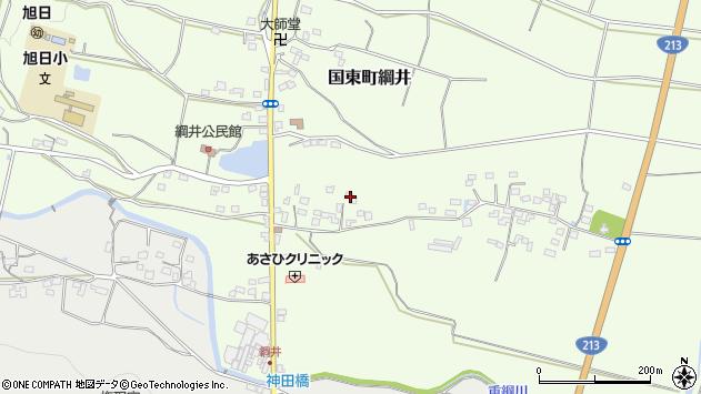 大分県国東市国東町綱井580周辺の地図