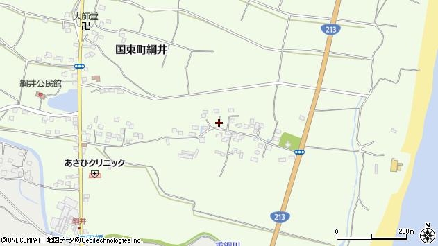 大分県国東市国東町綱井694周辺の地図