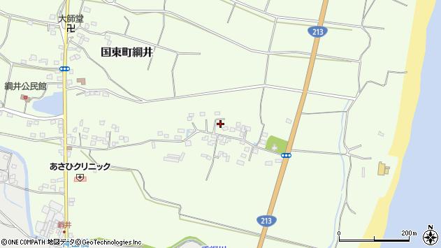 大分県国東市国東町綱井692周辺の地図