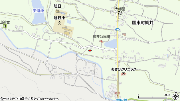 大分県国東市国東町綱井1964周辺の地図
