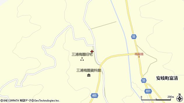 大分県国東市安岐町富清2599周辺の地図