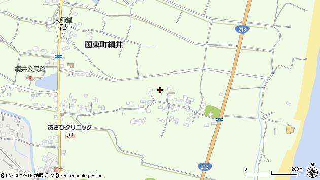 大分県国東市国東町綱井704周辺の地図