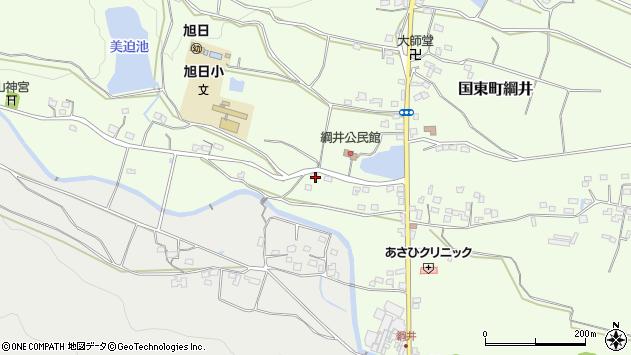 大分県国東市国東町綱井1953周辺の地図