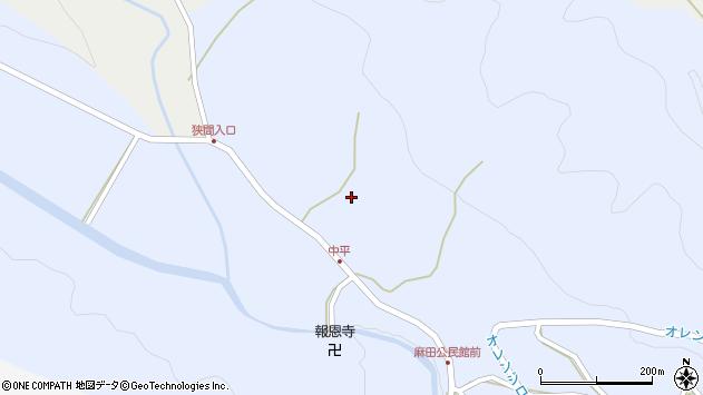 大分県国東市武蔵町麻田828周辺の地図