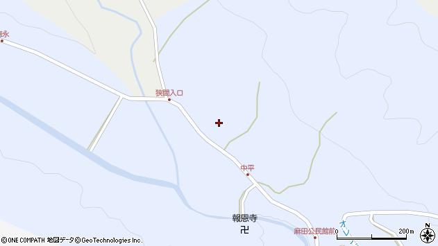 大分県国東市武蔵町麻田761周辺の地図