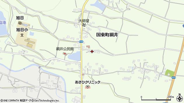 大分県国東市国東町綱井990周辺の地図