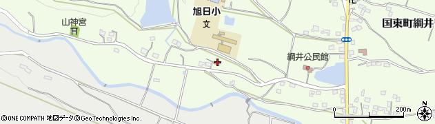 大分県国東市国東町綱井2057周辺の地図