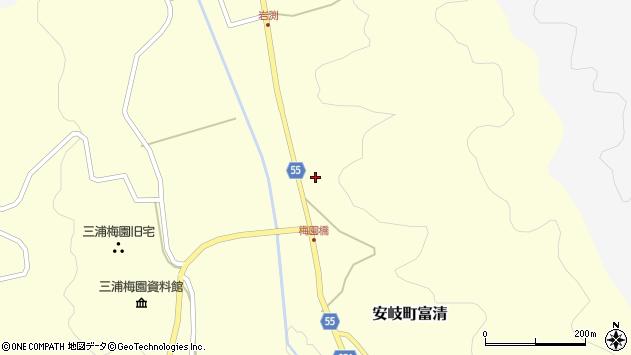 大分県国東市安岐町富清3569周辺の地図