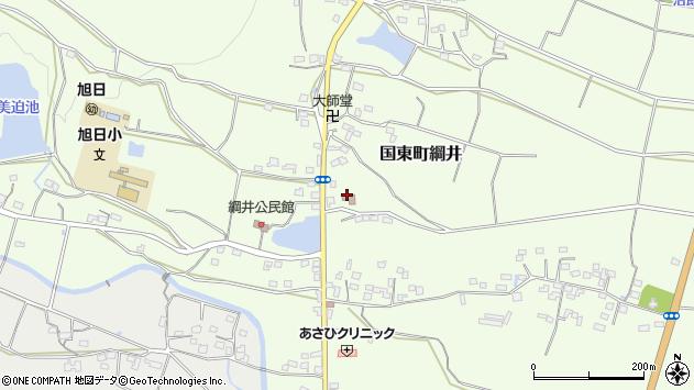 大分県国東市国東町綱井1025周辺の地図