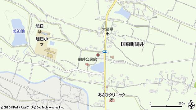 大分県国東市国東町綱井1855周辺の地図