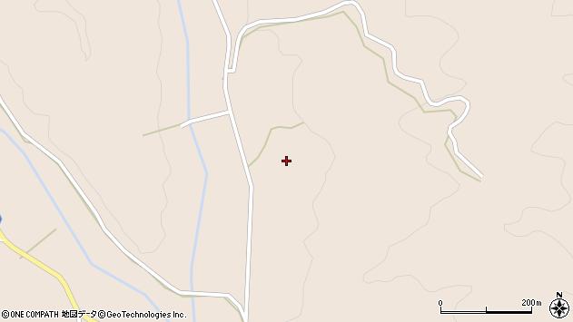 大分県国東市安岐町明治小俣周辺の地図