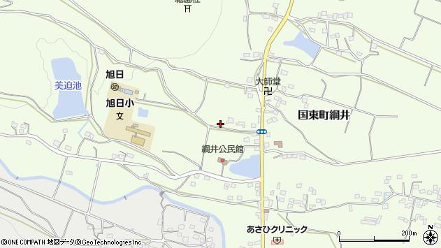 大分県国東市国東町綱井1834周辺の地図
