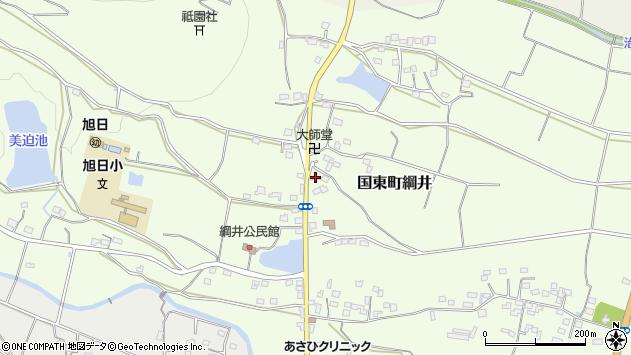 大分県国東市国東町綱井1040周辺の地図