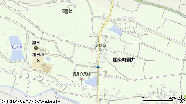 大分県国東市国東町綱井1789周辺の地図
