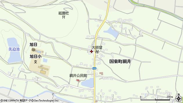 大分県国東市国東町綱井1772周辺の地図
