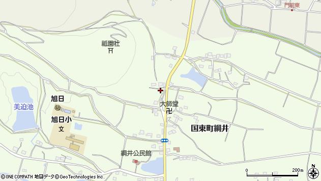 大分県国東市国東町綱井1223周辺の地図