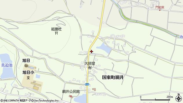 大分県国東市国東町綱井1691周辺の地図