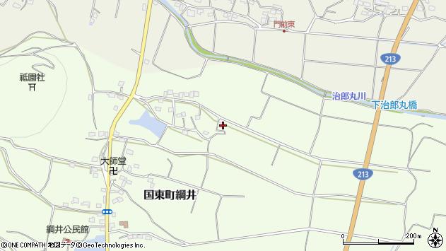 大分県国東市国東町綱井1536周辺の地図