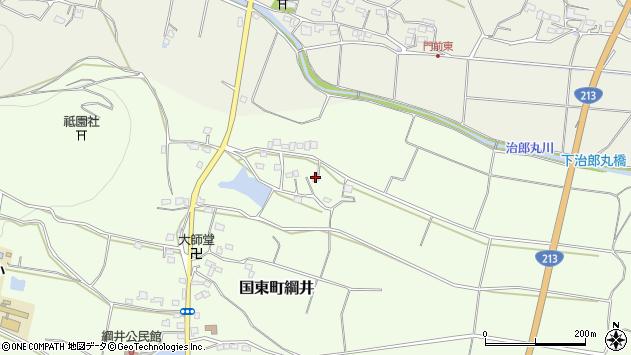 大分県国東市国東町綱井1554周辺の地図