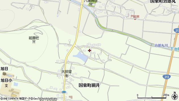大分県国東市国東町綱井1613周辺の地図
