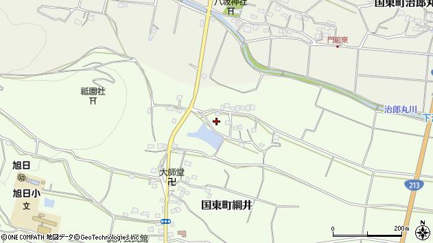 大分県国東市国東町綱井1616周辺の地図