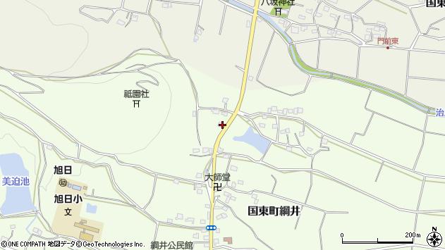 大分県国東市国東町綱井1693周辺の地図