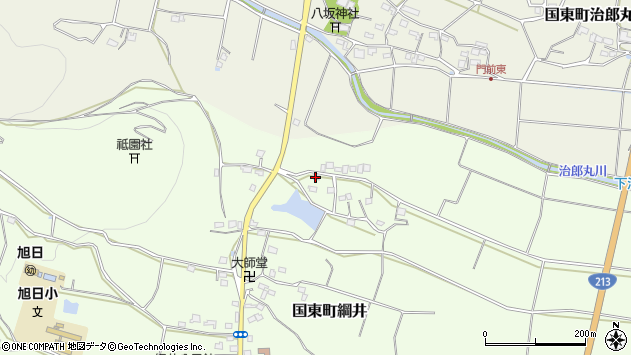 大分県国東市国東町綱井1610周辺の地図