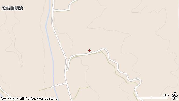 大分県国東市安岐町明治2698周辺の地図