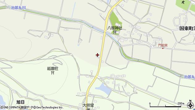 大分県国東市国東町治郎丸947周辺の地図