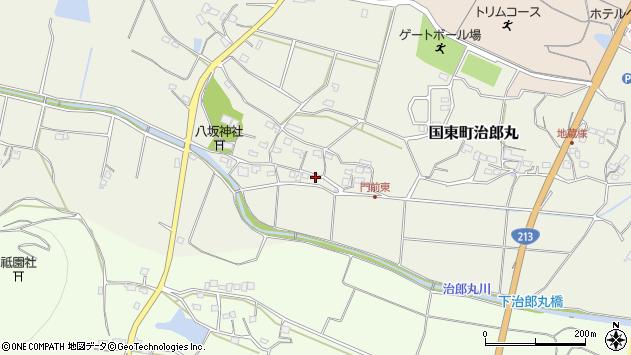 大分県国東市国東町治郎丸635周辺の地図