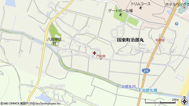 大分県国東市国東町治郎丸664周辺の地図